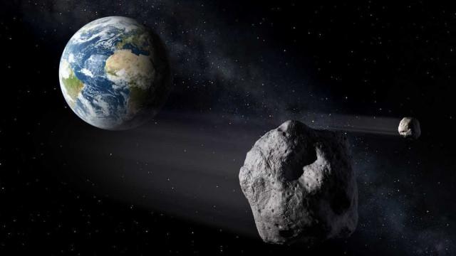 Há um asteroide se aproximando da Terra, avisa NASA