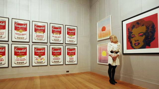 Roma recebe exposição sobre Andy Warhol