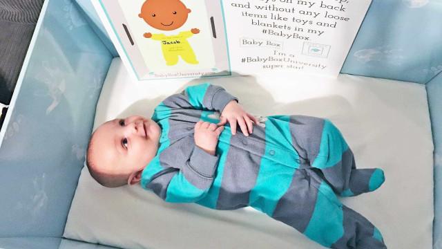 """Estado americano doa """"caixa de papelão"""" a recém-nascidos"""