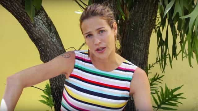 Luana Piovani critica o Brasil e diz que venderia bolo em Portugal