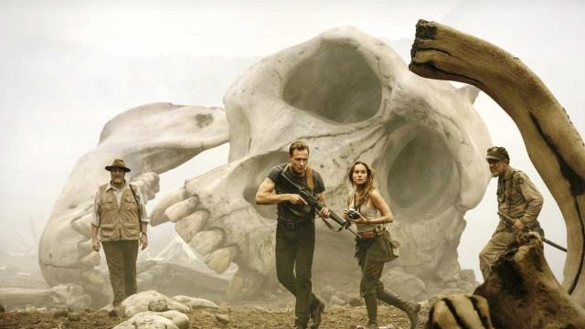 """""""Kong"""" tira de """"Logan"""" a liderança de  bilheteria nos cinemas mundiais"""