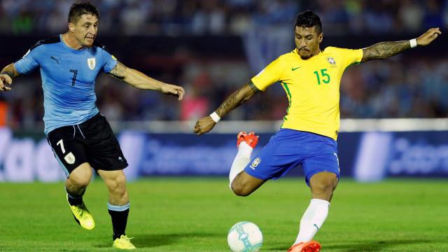 Brasil e Uruguai fazem amistoso com desfalques nesta sexta-feira