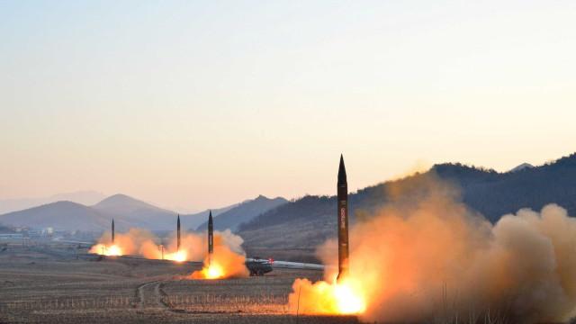 Coreia do Norte faz lançamento de míssil, mas fracassa