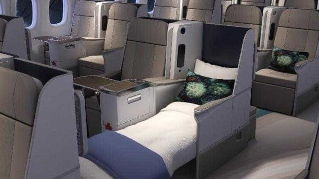 Cruzeiro em avião de luxo oferece mordomo, adega e wi-fi por R$ 500 mil