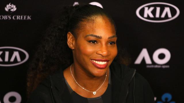 Foi há 2 anos. Serena Williams recorda subida ao altar com foto amorosa