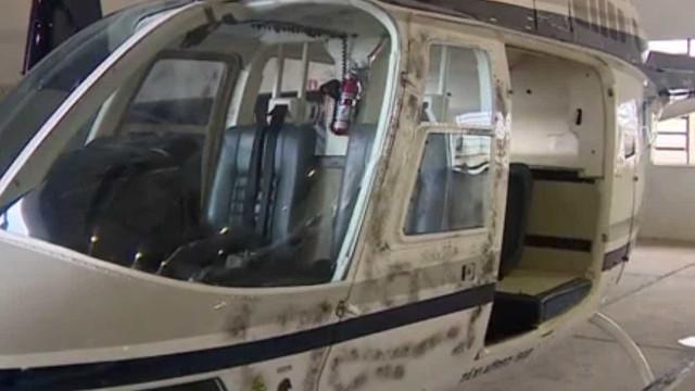 Polícia prende mulher suspeita  de roubar helicóptero no RS