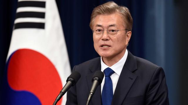 Presidente da Coreia do Sul acusa Japão de desonestidade