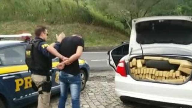 PRF apreende crack e skunk em rodovia na região metropolitana do Rio
