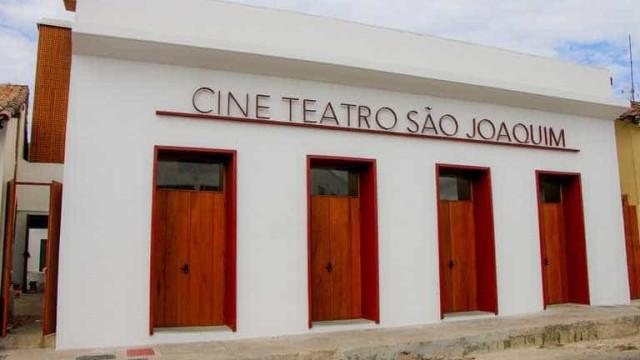 Primeiro teatro do Centro-Oeste, São Joaquim reabre as portas