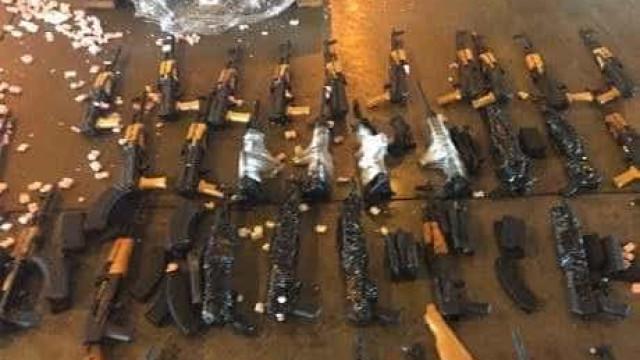 Polícia do Rio tenta rastrear origem de fuzis