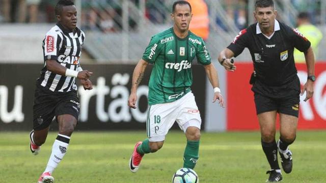 Com Felipe Melo no banco, Palmeiras empata com o Atlético-MG