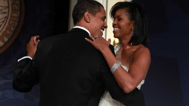 "Michelle Obama celebra aniversário de Barack. ""Marido e pai maravilhoso"""
