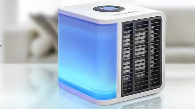 Ar condicionado portátil já existe e é de baixo consumo