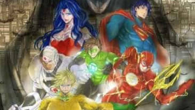 Mangá de 'Liga da Justiça' é lançado no Japão
