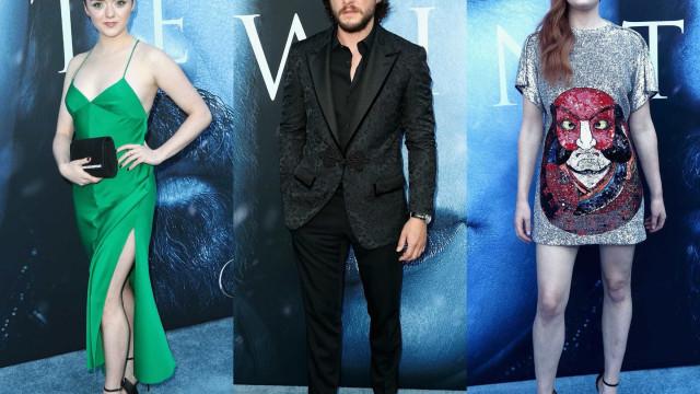 Veja quem brilhou na pré-estreia de 'Game of Thrones'