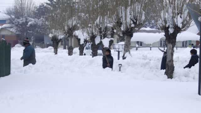 Chile enfrenta a maior nevasca das últimas décadas