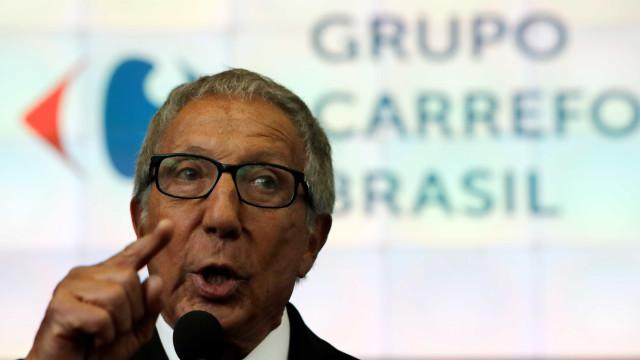 Abilio Diniz reduz participação no Carrefour Brasil