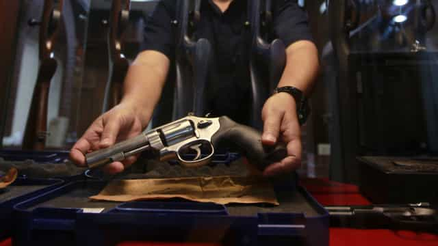 Registros de armas de fogo saltam 120% em 2020