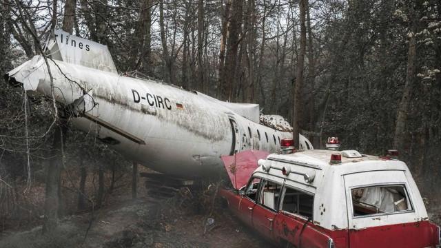 40 imagens impactantes de meios de transporte abandonados pelo mundo