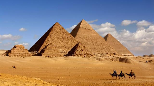 Cientistas desvendam o mistério da construção das pirâmides