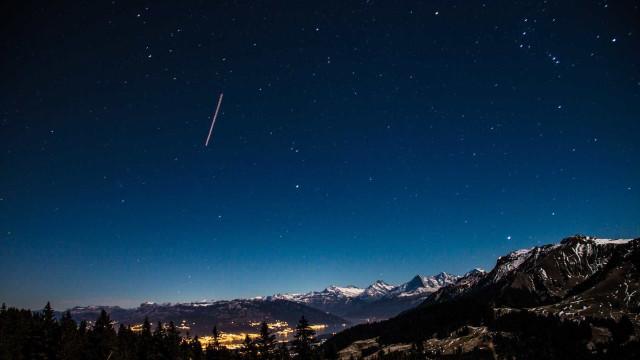 Céu desta madrugada será coberto por chuva de meteoros
