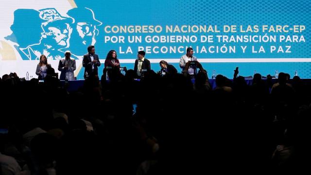 FARC iniciam o primeiro congresso de seu partido político