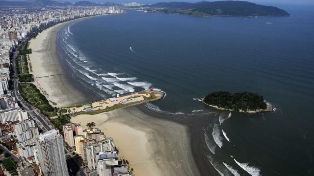Banhista é atropelada por bote e tem braço amputado em Guarujá