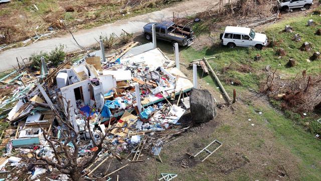 Caribe: vítimas do Irma sofrem com devastação, falta de alimento e água