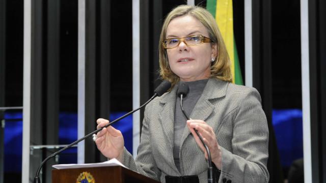 Pré-sal foi mais barato que gasto do governo para se manter, diz Gleisi