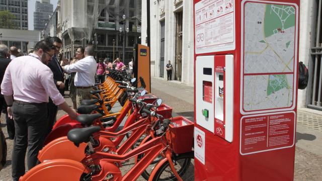 Doria planeja 10 mil bicicletas emprestadas com Bilhete Único