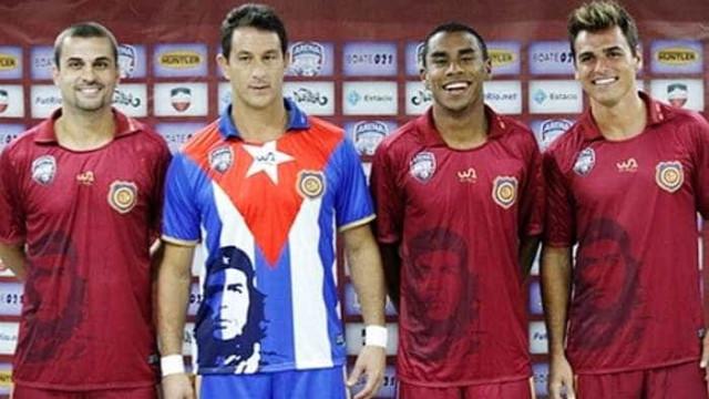 Camisa do Madureira em homenagem a Che está entre as maiores do futebol