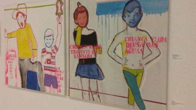 Abertura da mostra Queermuseu, no Rio, é marcada por protestos