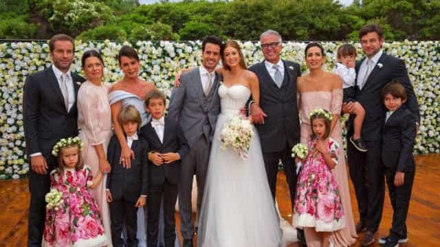 Marina RuyBarbosa mostra momento fofo de Titino seu casamento