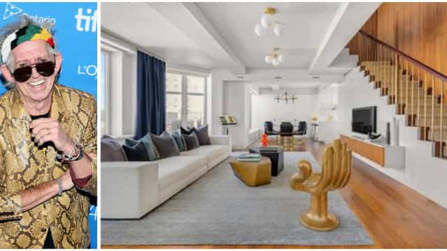 Keith Richards coloca duplex à venda em Manhattan por U$S 12 milhões