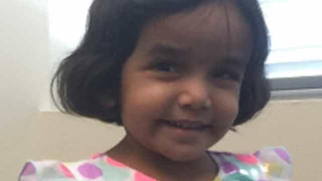 Pai confessa ter escondido corpo de menina após ela morrer engasgada