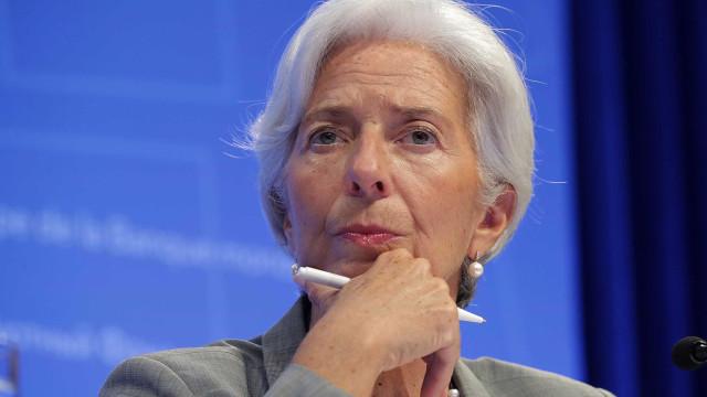 Christine Lagarde submete pedido de renúncia de cargo no FMI