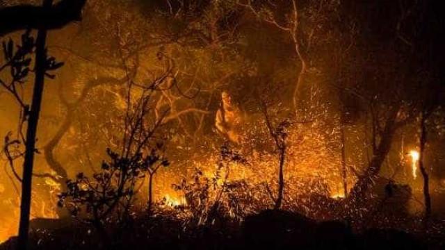 Incêndio na Chapada dos Veadeiros ainda está fora de controle