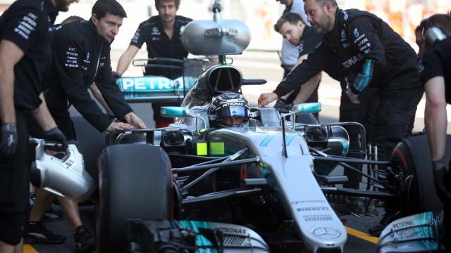 Em dobradinha da Mercedes, Bottas lidera treino livre no México