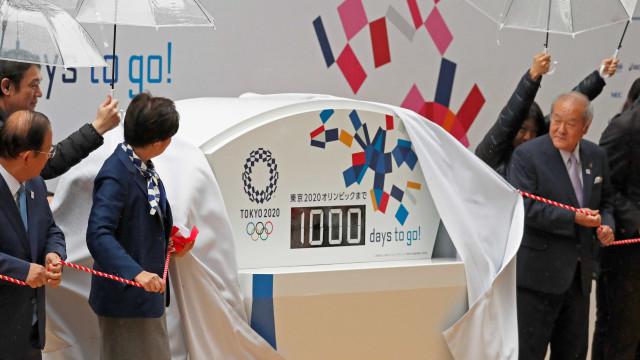 Tóquio lança relógio e inicia contagem de 1000 dias para a Olimpíada
