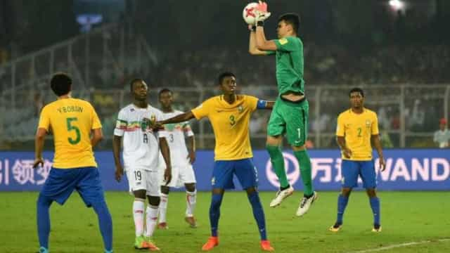 Brasil vence Mali e termina Mundial sub-17 em 3º