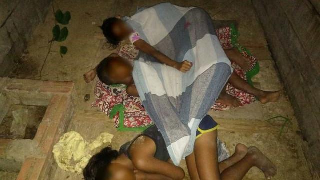 Irmãos são encontrados dormindo em chiqueiro no Acre