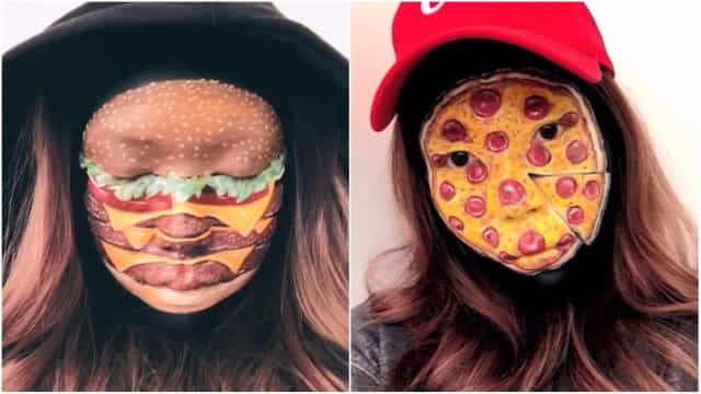Artista cria maquiagens de fast-food incrivelmente realistas