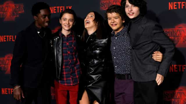'Stranger Things' bate recorde de espectadores na Netflix