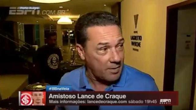 Luxemburgo se irrita e abandona entrevista: 'Você é muito chato'