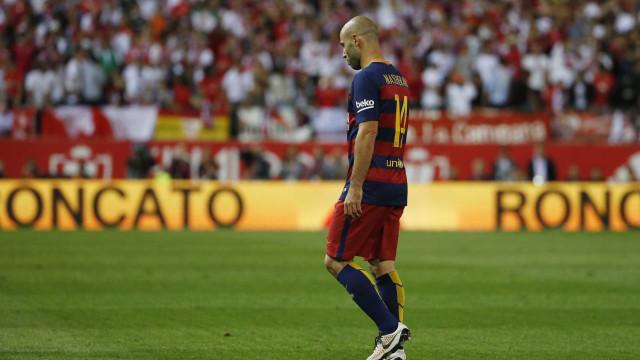 Barcelona aceita oferta chinesa e vende Mascherano por R$ 33,8 mi