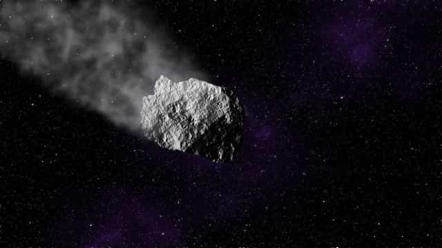 Meteoro passará perto da Terra nesta terça-feira