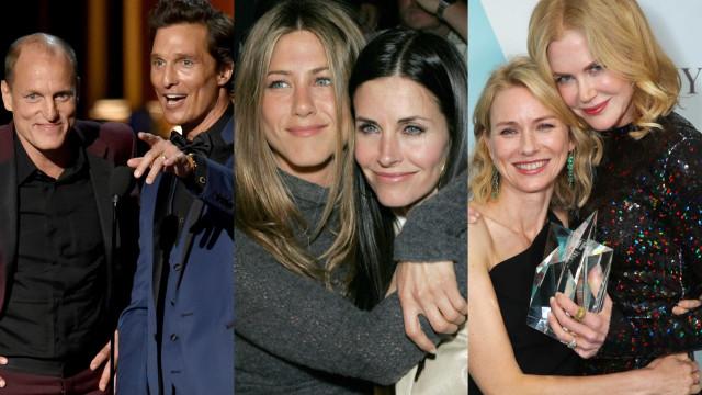 Conheça os atores que são melhores amigos em Hollywood