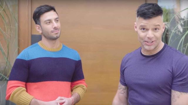 Ricky Martin e o marido mostram sua casa (que compraram em 3 dias)
