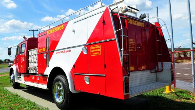 Homem é suspeito de atear fogo em casa onde estavam ex e filhos no DF