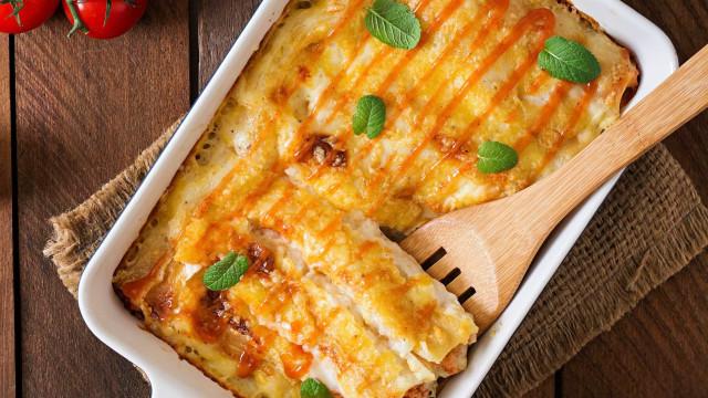 Receita fácil: aprenda a fazer um canelone de queijo
